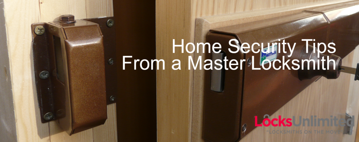 Home Security Tips from a Master Locksmith